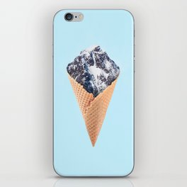 ICE CREAM MOUNTAIN iPhone Skin