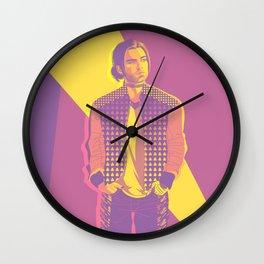 Retro Bucky Wall Clock
