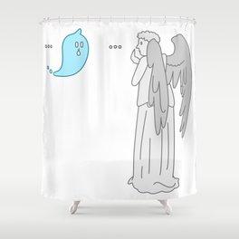 Don't blink... Shower Curtain