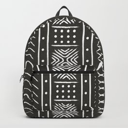Another black mud cloth Backpack