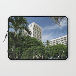 Caribe Hilton, San Juan Puerto Rico, before Maria Laptop Sleeve
