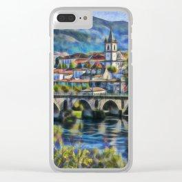 Ponte da Barca, Portugal Clear iPhone Case