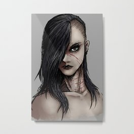 Die Young Metal Print