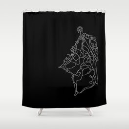 Walking Paths of Prospect Park Shower Curtain