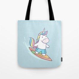 Unicorn Surfer Tote Bag