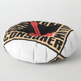 Consumer Nation Floor Pillow