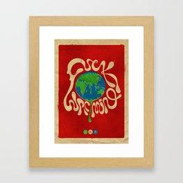 Hot Topic Framed Art Print