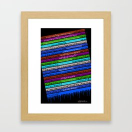 Can I Ask You Question? Framed Art Print