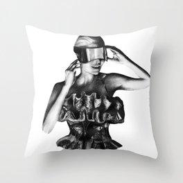 McQueen Throw Pillow