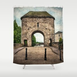 The Bridge At Monmouth Shower Curtain