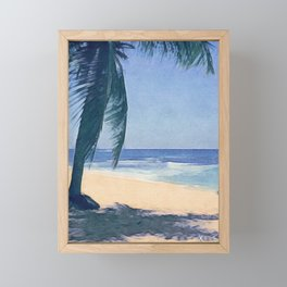 Island Feel Framed Mini Art Print