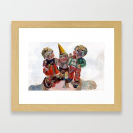 Party Time Framed Art Print