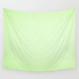 Modern lime green abstract gradient paper texture Wall Tapestry