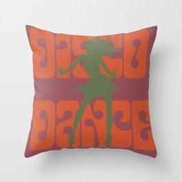 Disco dance Throw Pillow