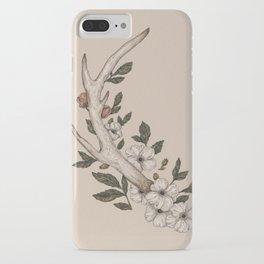 Floral Antler iPhone Case