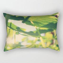 Nasturtiums Rectangular Pillow
