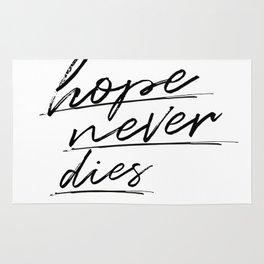 hope never dies Rug