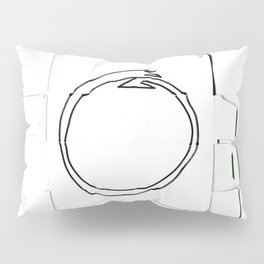 From Simplicity 2 Complexity series: Ouroboros Pillow Sham