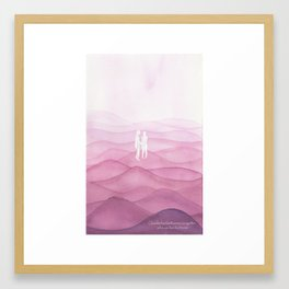 Fantasmas solitarios Framed Art Print