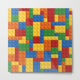 Lego bricks Metal Print