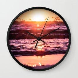 Mission Bay Shoreline in San Diego, California Wall Clock