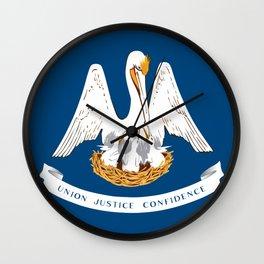 Flag of Louisiana Wall Clock