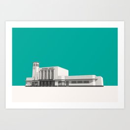 Surbiton Station Art Print