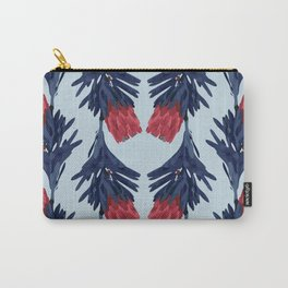 PROTEA IN COLUMBIA BLUE Carry-All Pouch