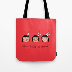 Red Indian Tote Bag