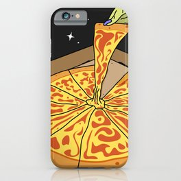 Universe Pizza Delivery iPhone Case