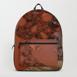 Study of textures and terra cotta Backpack