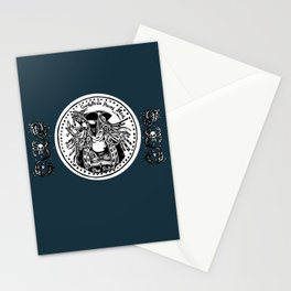 The GurdyBird Shilling Stationery Cards