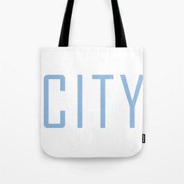 City Powder Blue Tote Bag