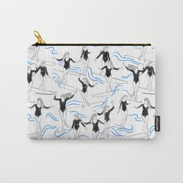 surfer girls Carry-All Pouch