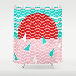 Hello Ocean Summer Dreams Shower Curtain