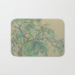 Pine-tree branch Bath Mat