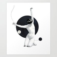 A state of equilibrium (2015) Art Print