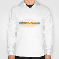 islam Hoodies featuring Jerusalem City Skyline Hq v3 by HQPhoto
