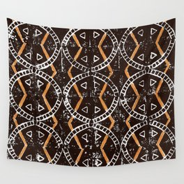Orange + Black Wall Tapestry