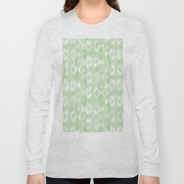 Harlequin Marble Mix Greenery Long Sleeve T-shirt