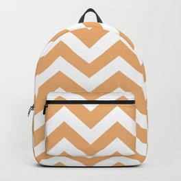 Middle yellow red - pink color - Zigzag Chevron Pattern Backpack