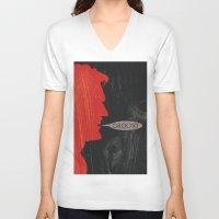 evil dead V-neck T-shirts featuring Evil Dead 2 by Lucas Bergertime