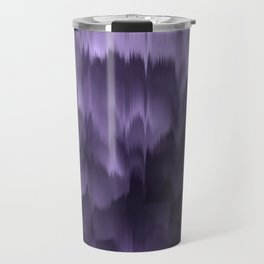 Purple and black. Abstract. Travel Mug