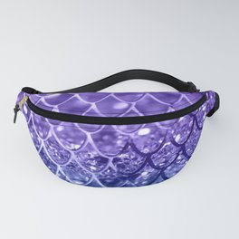 Mermaid Scales on Unicorn Girls Glitter #19 #shiny #decor #art #society6 Fanny Pack