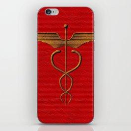 Sacred Caduceus iPhone Skin
