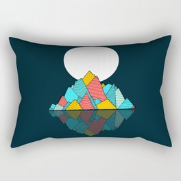 The lost Island Rectangular Pillow