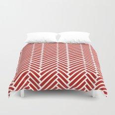 Herringbone Candy Duvet Cover