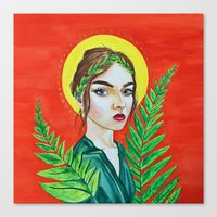 The Goddess of Youth Canvas Print
