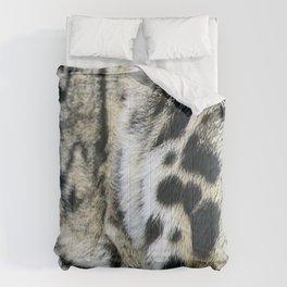 Clouded Leopard Comforters
