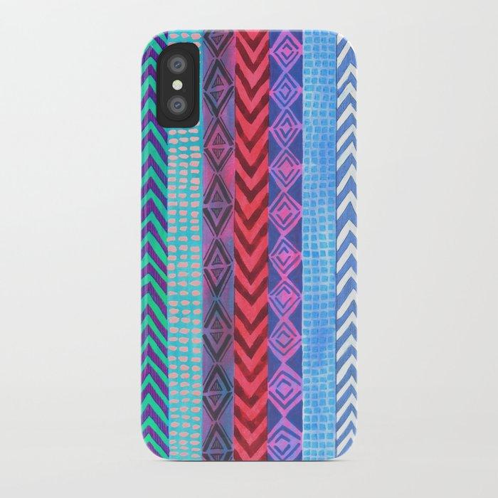 PATTERN {Peru Stripe} iPhone Case